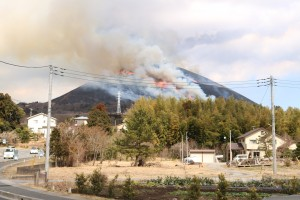 2017大室山の山焼き