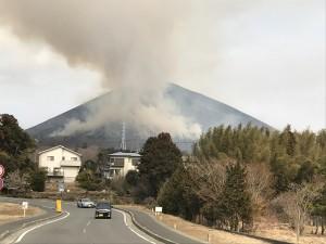 2018大室山山焼き
